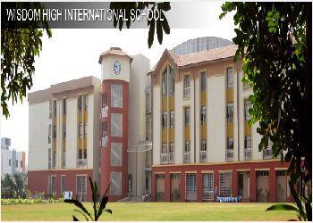 Wisdom High International School Building Image