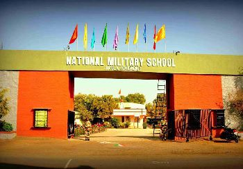 National Military School Building Image