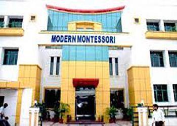 Modern Montessori School Building Image
