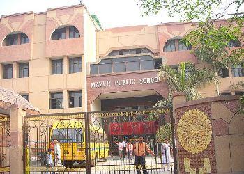 Mayur Public School Building Image