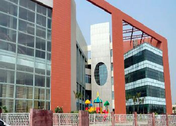 Lotus Valley International School Building Image