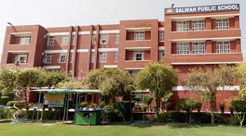 Salwan Public School, Sector 15, Part II, Gurgaon - 122001 Building Image