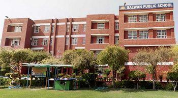 Salwan Public School Building Image