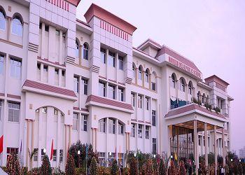 Modern Delhi Public School Building Image
