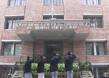 Bal Bharati Public School Building Image