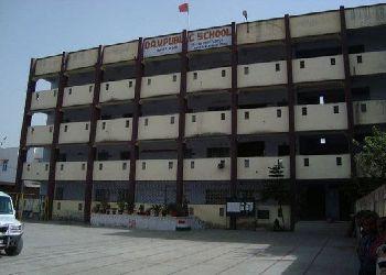 D. A. V Public School Building Image