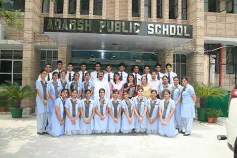 Adarsh Govt. Middle School Building Image
