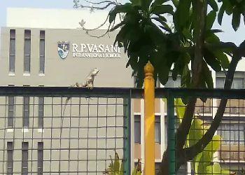 R P Vasani International School Building Image