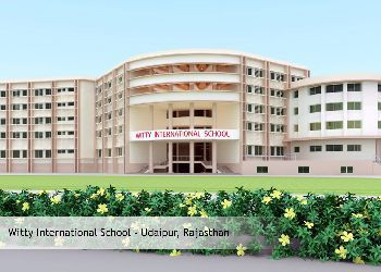 Witty International School, Badgaon, Udaipur - 313001 Building Image