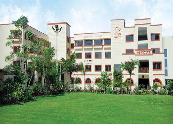 The New Tulip Internation School, Dascroi, Bopal, Ahmedabad - 380058 Building Image