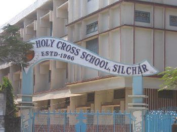 Holy Cross Higher Secondary School Building Image