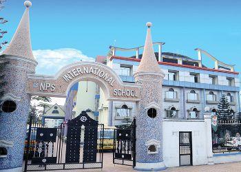 NPS International School Building Image