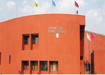 Monnet DAV Public School Building Image