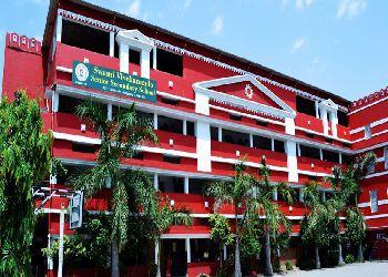 Swami Vivekanand Higher Secondary School, New Shanti Vihar Colony, Daganiya, Raipur - 492001 Building Image