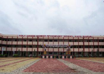 Holy Cross Higher Secondary School,  Avanti Bai Chowk, Lodhi Para Kapa, Raipur - 492005 Building Image