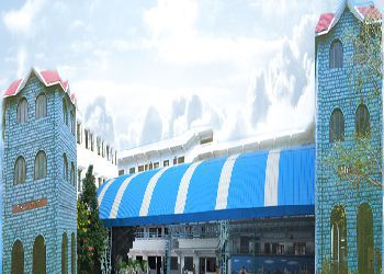 Jubliee Hills Public School, Shaikpet, Hyderabad - 500096 Building Image