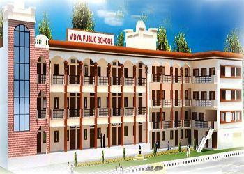 Vidya Public School Building Image