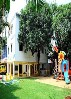 Globe Tot'Ers A Birla Pre School, Plot No 27, Street No 19, Telecomnagar, Gachibowli, Near Mrf Tire Shop, Hyderabad - 500032 Building Image