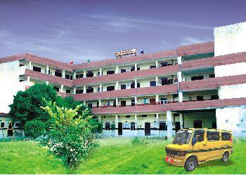 Upadhyay Convent School Building Image
