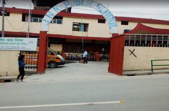 J N K Public School Building Image