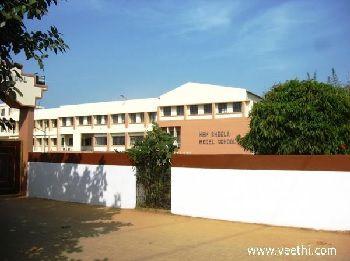 Hem Sheela Model School Building Image