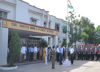 The Aditya Birla Public School Building Image
