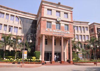 K. R. Mangalam World School Building Image