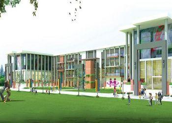 Manav Rachna International School Building Image
