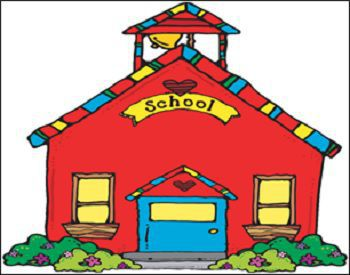 Hindi School Building Image