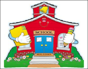 S B School Building Image