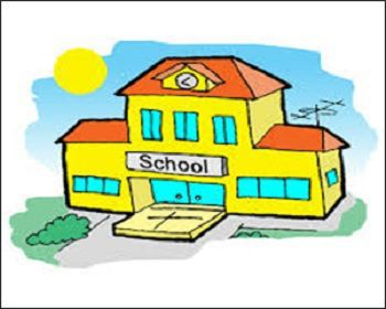 Indian Public School Building Image
