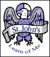 St. John's English Primary School,  Gaddigodam Logo