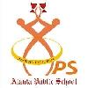 Ajanta Public School,   Near HUDA Market Logo