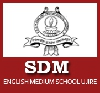 Sdm English Medium Higher Primary School Logo Image