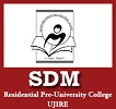 SDM Residential Pre University College Logo Image