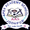 Apex Academy Senior Secondary School,  Marudhar Kesri Nagar Pal Road Logo