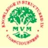 Maharishi Vidya Mandir School,  Kovil Pappakudi Logo