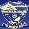 Alvernia Matriculation Higher Secondary School,  Trichy Road Logo