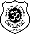 D. A. V Higher Secondary School Logo Image