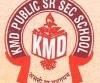 KMD Public Senior Secondary School,  Adarsh Bazar Logo