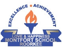 Montfort School Roorkee,  New Haridwar Road Logo