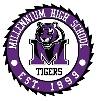 Millennium High School,  Hasanparthy Logo