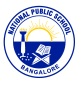 National Public School,  12 A Main Logo