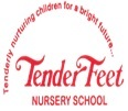 Tender Feet Nursery School,  Sector C Logo