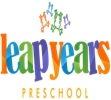 Leap Years Preschool,  23/4A Logo