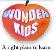 Wonderkids Preschool,  Adarsha Colony Logo