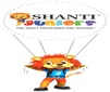 Shanti Juniors Play School,  Ambaji Kadva Plot Logo