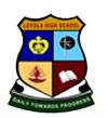 Loyola High School,  P.O. Sadaquat Ashram Logo