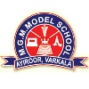 Mahatma Gandhi Memorial Model School,  Ayiroor Logo