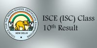 ICSE Class 10<sup>th</sup> Results